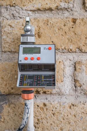 Garden timer for water irrigation system