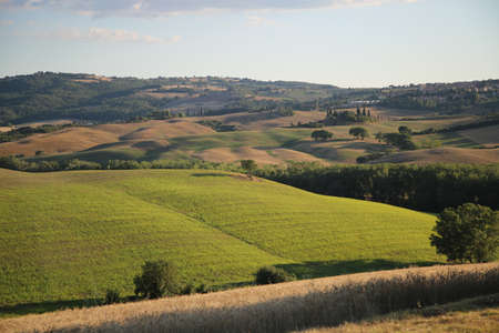Photo for Beautiful Tuscany Landscape, Val DOrcia - Royalty Free Image