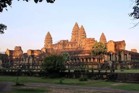 Foto für The temple of Angkor Wat, Cambodia - Lizenzfreies Bild