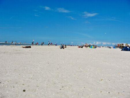 encouraged beach