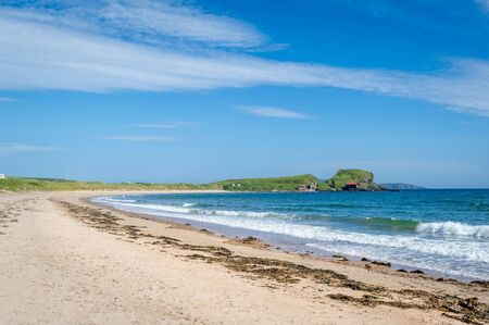Photo pour Kintyre peninsula beach, Scotland - image libre de droit