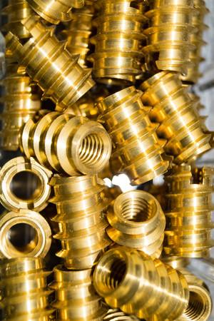 Photo pour industrial iron nuts nails and screw - image libre de droit