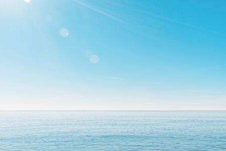 Photo pour calm, minimalistic seascape. - image libre de droit