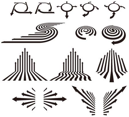 Ilustración de Arrow symbol - Imagen libre de derechos