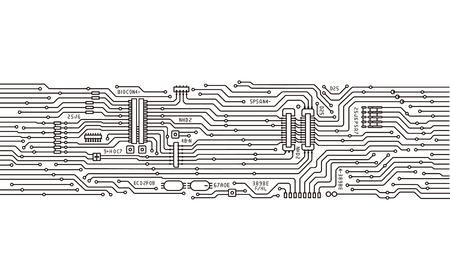 Illustration pour integrated circuits - image libre de droit
