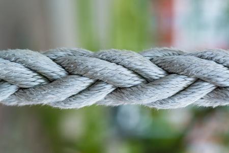 Photo pour macro shot of ropes close up for web background - image libre de droit