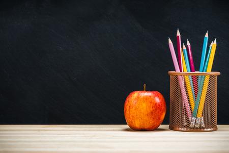 Photo pour Background education concept. Back to school with copy space. - image libre de droit