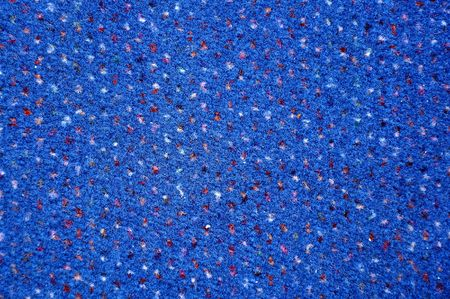 Close up image of a blue carpet, background texture.