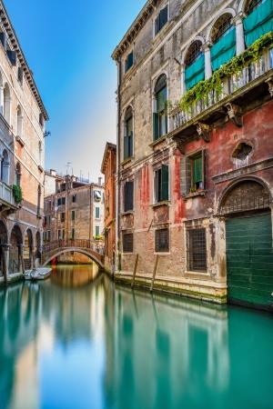 Serene Venetian Canal Wallpaper Mural