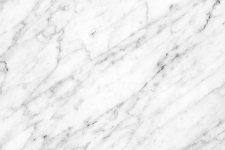 Foto de White Carrara Marble natural light for bathroom or kitchen white countertop. High resolution texture and pattern. - Imagen libre de derechos