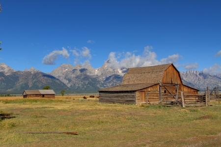 Iconic Mormon Row Barn which