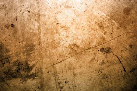 Closeup of brown grunge surface