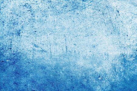 Closeup of rough blue background