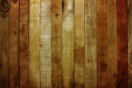 Closeup of wooden planks