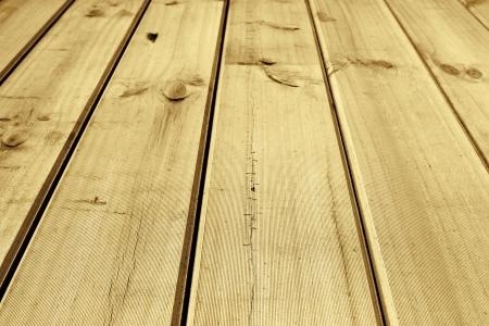 Closeup of wooden floor boards