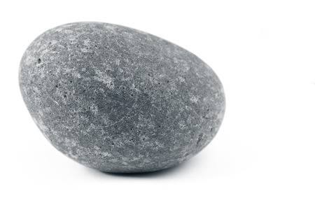 Photo for Closeup of one rock on plain background - Royalty Free Image