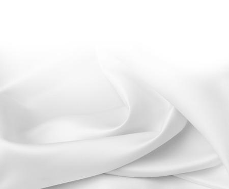 Photo pour Closeup of rippled silk fabric - image libre de droit