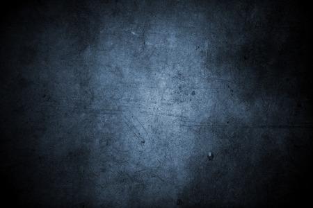 Photo pour Closeup of blue grunge wall - image libre de droit
