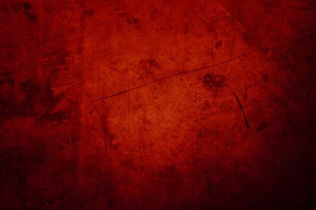 Foto de Red grunge textured wall background - Imagen libre de derechos