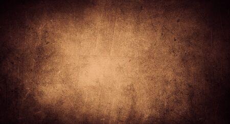 Photo pour Brown color textured grunge background - image libre de droit