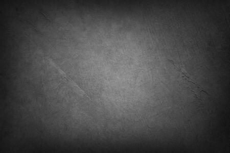 Photo pour Grey textured background. Dark edges. Copy space - image libre de droit