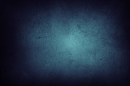 Photo pour Closeup of blue textured background. Dark edges - image libre de droit