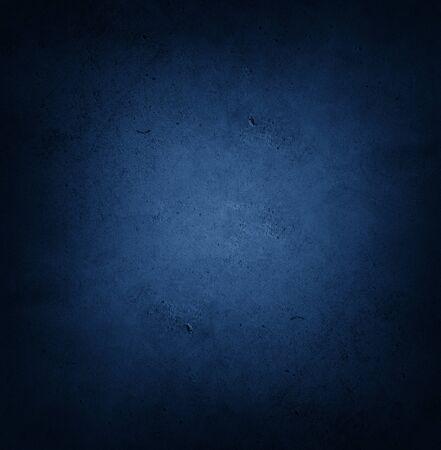 Foto de Close-up of blue textured background. Dark edges - Imagen libre de derechos