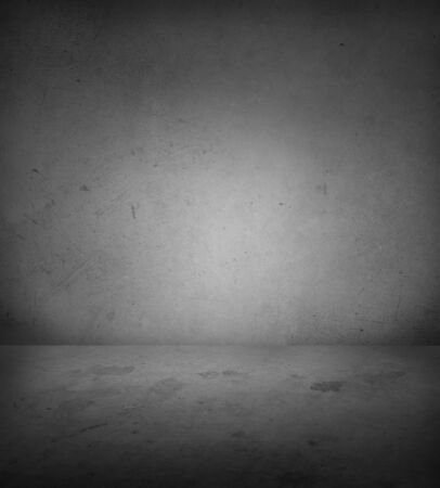 Photo for Empty concrete floor and wall - Royalty Free Image