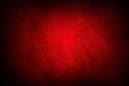 Foto de Red textured concrete wall background - Imagen libre de derechos