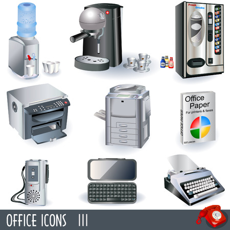 Office icons set - part 3