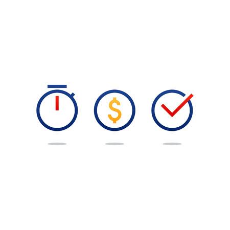Illustration pour Flat design  illustration. Finance theme concept - image libre de droit
