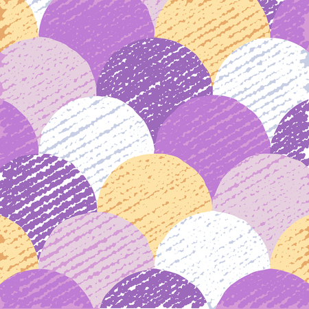 Colorful circles pattern, abstract flat background, creative backdrop with grunge texture, vector illustration, graphic design
