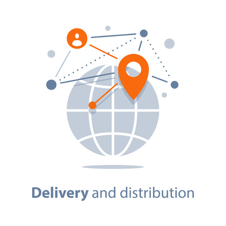 Global delivery and distribution, travel arrangements, international shipment