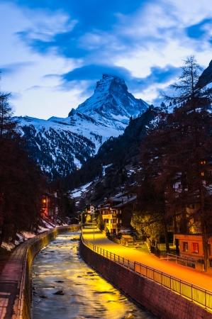 Twilight Scene Matterhorn fr