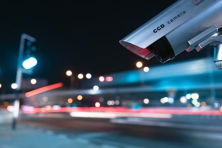 Foto de CCTV Surveillance operation - Imagen libre de derechos