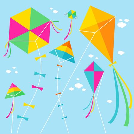 Foto de Kites - Imagen libre de derechos