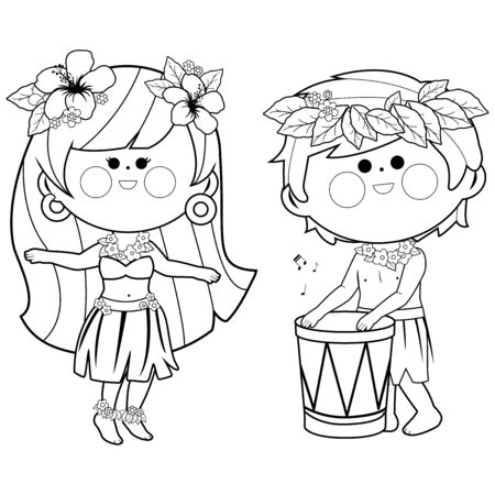 hawaii girl | Minion coloring pages, Coloring pages for girls ... | 450x450