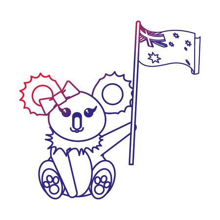 Australian koala design