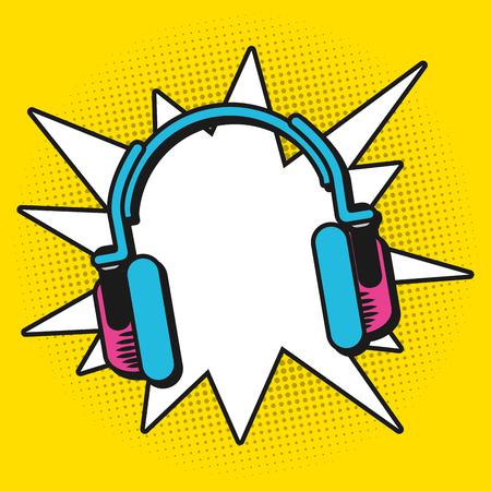 Ilustración de Pop art colorful cartoons vector illustration graphic design - Imagen libre de derechos