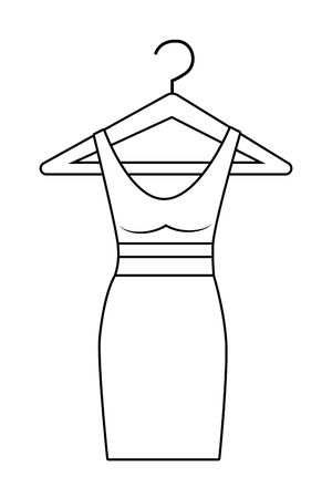 Foto per Isolated dress design - Immagine Royalty Free