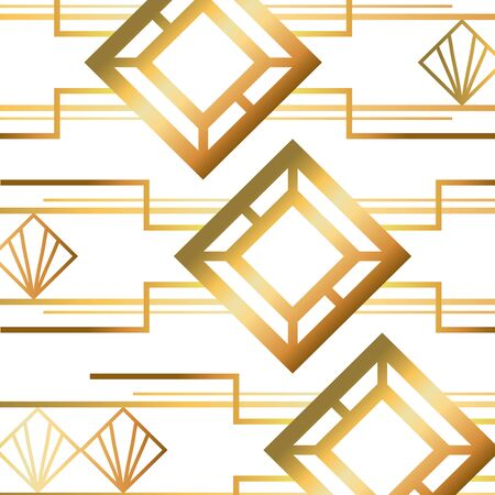 Illustration for Isolated art deco background design - Royalty Free Image