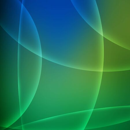Abstract green and blue background.