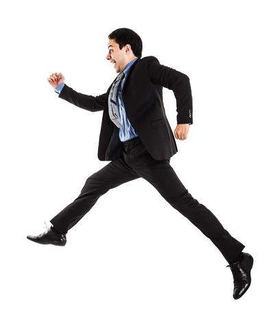 Portrait of an active businessman