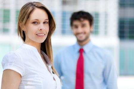 Photo pour Business partners - image libre de droit
