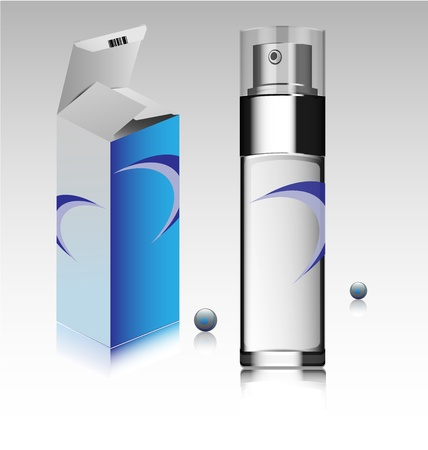 Creative design of a fragrance bottle and accompanied box