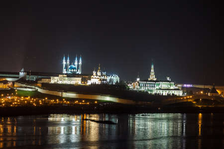 Kazan Kremlin at night