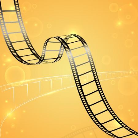 Illustration pour Film Strip Background - image libre de droit