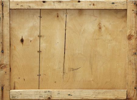 Detail of an old wooden crate, suitable for background
