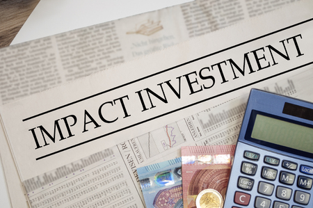 Newspaper with impact investment