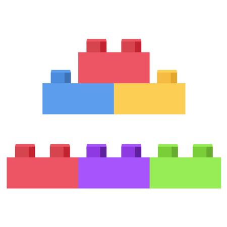 Plastic building block - toy construction set